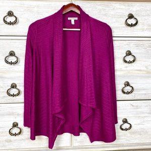 Dana Buchman cardigan sweater